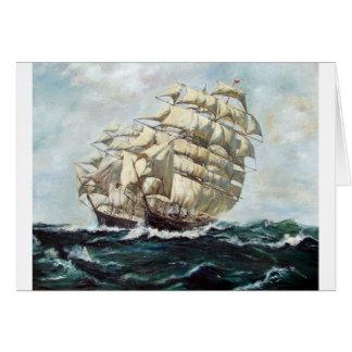 Sailing Ships Greeting Cards