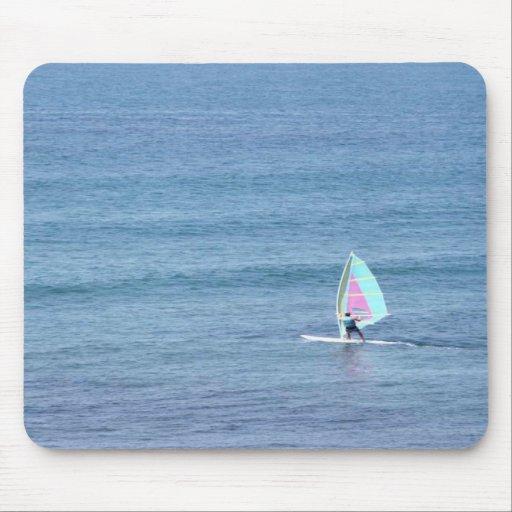 Sailing Solo Mouse Pad