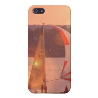 Sailing Spinnaker Sailboat iPhone 4 Case