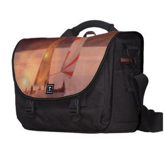 Sailing Spinnaker Sailboat Laptop Messenger Bag