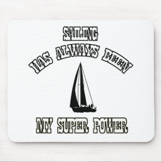 SAILING sports designs Mouse Pad