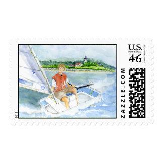 sailing stamp