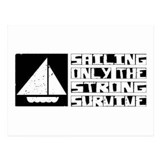 Sailing Survive Postcard