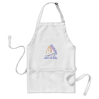 Sailing Takes Me Away Adult Apron