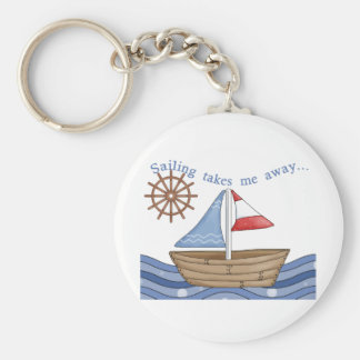Sailing Takes Me Away Keychain