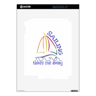 Sailing Takes Me Away Skin For The iPad 2