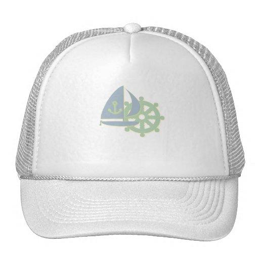 Sailing Team Baseball Cap Trucker Hat
