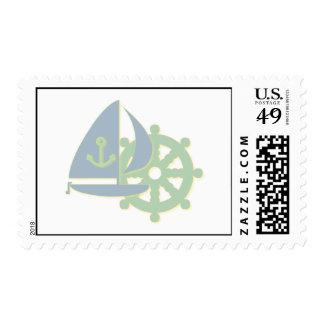 Sailing Team Stamp