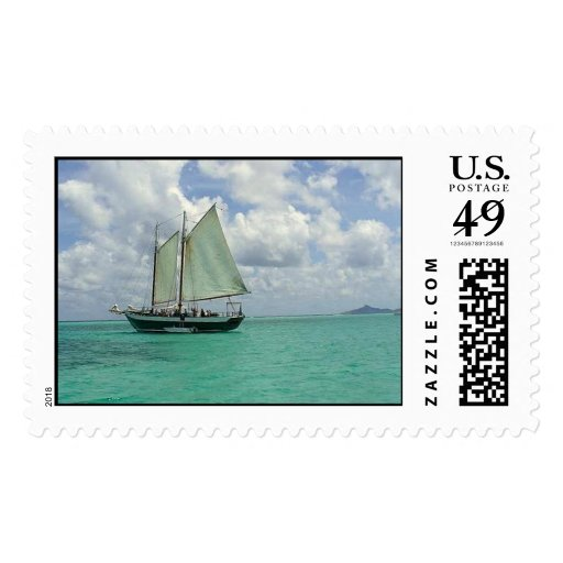 Sailing the Caribbean Postage