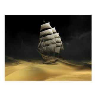 Sailing the Desert Postcard