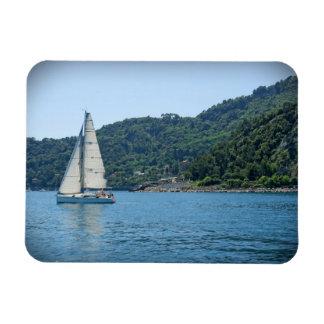 Sailing the Italian Riviera - Magnet
