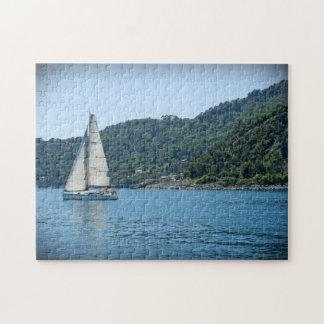 Sailing the Italian Riviera - Portofino Puzzle