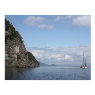 Sailing the San Juans Postcard