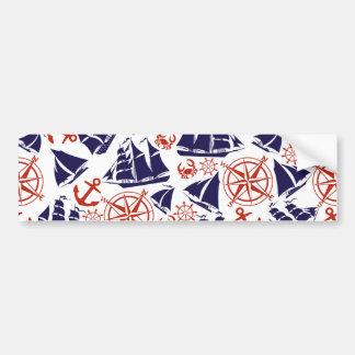 Sailing the Seas Bumper Sticker