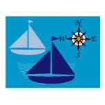 Sailing The Seas Postcard