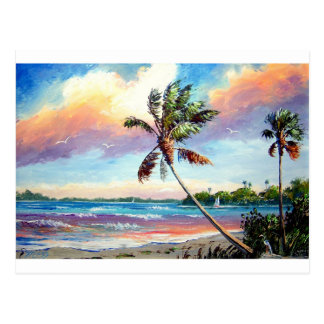 Sailing the Tropics Postcard