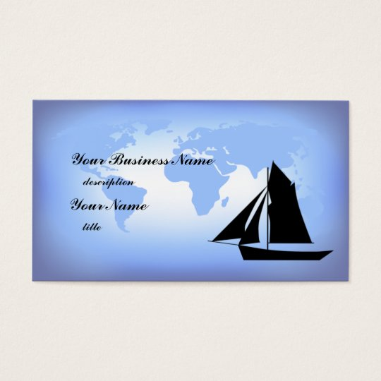 Sailing the World Business Card