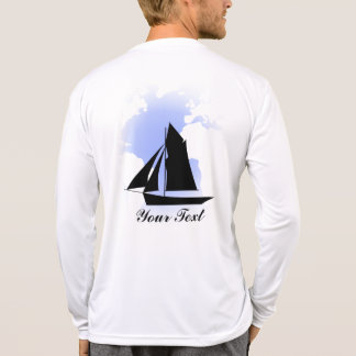 Sailing the World Men s Sport-Tek Competitor L S T Tshirts