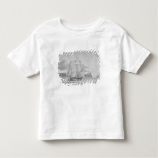 Sailing through young ice, September 1824, from 'J T-shirts