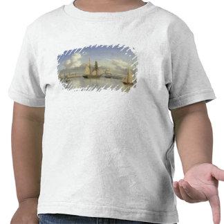 Sailing Vessels off Kronborg Castle, Sweden, 1880 T Shirt