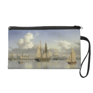 Sailing Vessels off Kronborg Castle, Sweden, 1880 Wristlet