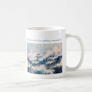Sailing Watercolor Valentine s Day Love Mug