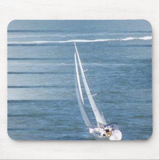 Sailing Wind Design Mouse Pad