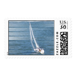 Sailing Wind Postal Stamp