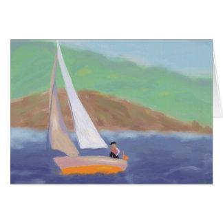Sailing Wind & Speed, Greeting Card