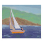 Sailing Wind & Speed, Poster