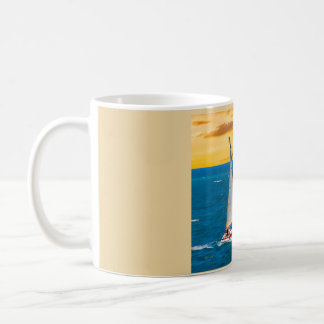 Sailing With The Wind 4 Coffee Mug