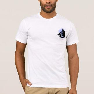 Sailing World Sail Boat Mens Tee Shirt