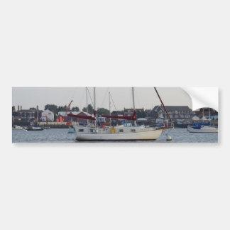 Sailing Yacht Duchess Of Karabos Bumper Sticker