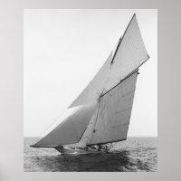 Sailing Yacht Gloriana, 1891 Poster