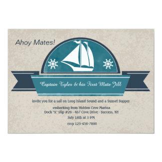Sailing Yacht Invitation