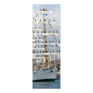 Sailingship Parade Bookmark Double-Sided Mini Business Cards (Pack Of 20)