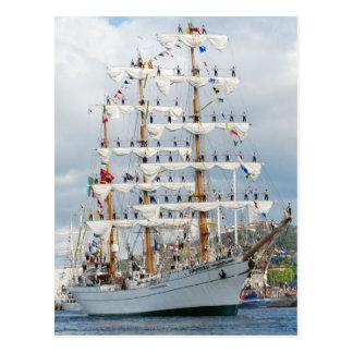 Sailingship Parade Postcard