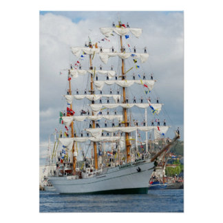 Sailingship Parade Poster