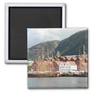 Sailingships en el imán de Bryggen
