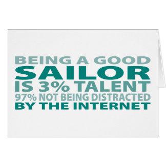 Sailor 3% Talent Card