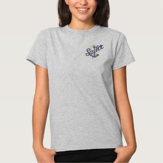 Sailor Anchor Embroidered Shirt