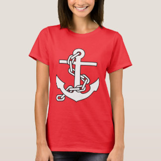 Sailor Anchor Ladies Shirt