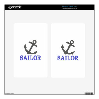 Sailor Anchor Skins For Kindle Fire