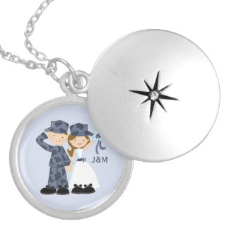 Sailor and Bride Military Wedding Custom Jewelry