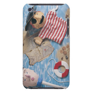 Sailor and pirate puppet heads barely there iPod cases
