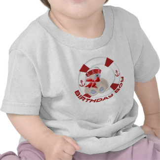 Sailor Bear Birthday Boy Tshirts