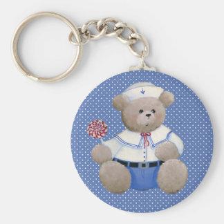 Sailor Bear Keychain