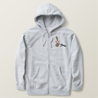 Sailor Boating & Fishing Tools Embroidered Hoodie