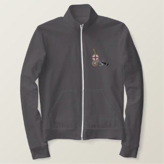 Sailor Boating & Fishing Tools Embroidered Jacket