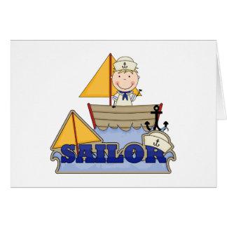 Sailor Boy Greeting Card